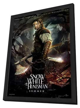 Snow White and the Huntsman - 11 x 17 Movie Poster - Style A - in Deluxe Wood Frame