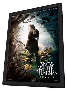 Snow White and the Huntsman - 11 x 17 Movie Poster - Style B - in Deluxe Wood Frame