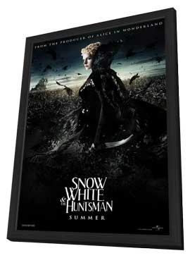 Snow White and the Huntsman - 11 x 17 Movie Poster - Style D - in Deluxe Wood Frame