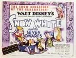 Snow White and the Seven Dwarfs - 11 x 14 Movie Poster - Style A