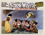 Snow White and the Seven Dwarfs - 11 x 14 Movie Poster - Style C