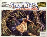 Snow White and the Seven Dwarfs - 11 x 14 Movie Poster - Style E