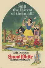 Snow White and the Seven Dwarfs - 11 x 17 Movie Poster - Style B