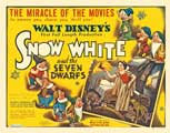 Snow White and the Seven Dwarfs - 30 x 40 Movie Poster UK - Style A