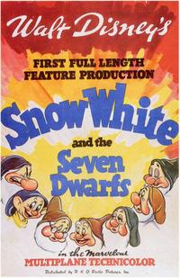 Snow White and the Seven Dwarfs - 11 x 17 Movie Poster - Style C