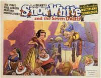 Snow White and the Seven Dwarfs - 11 x 14 Movie Poster - Style B