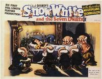 Snow White and the Seven Dwarfs - 11 x 14 Movie Poster - Style F