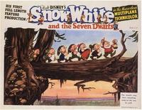 Snow White and the Seven Dwarfs - 11 x 14 Movie Poster - Style H