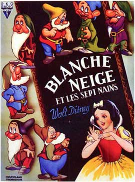 Snow White and the Seven Dwarfs - 11 x 17 Poster - Foreign - Style A