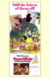Snow White and the Seven Dwarfs - 11 x 17 Movie Poster - Australian Style A