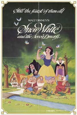 Snow White and the Seven Dwarfs - 27 x 40 Movie Poster - Style A