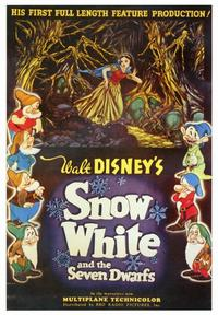 Snow White and the Seven Dwarfs - 43 x 62 Movie Poster - Bus Shelter Style A