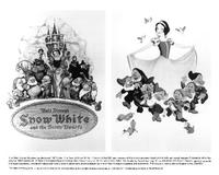 Snow White and the Seven Dwarfs - 8 x 10 B&W Photo #6