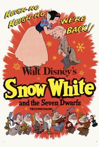 Snow White and the Seven Dwarfs - 27 x 40 Movie Poster - Style C