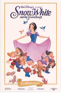 Snow White and the Seven Dwarfs - 43 x 62 Movie Poster - Bus Shelter Style B