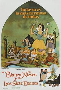 Snow White and the Seven Dwarfs - 27 x 40 Movie Poster - Style E