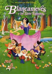Snow White and the Seven Dwarfs - 11 x 17 Movie Poster - Spanish Style C