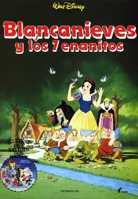 Snow White and the Seven Dwarfs - 11 x 17 Movie Poster - Spanish Style E