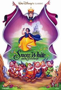 Snow White and the Seven Dwarfs - 11 x 17 Movie Poster - Style A - Museum Wrapped Canvas