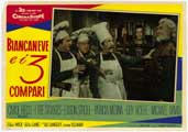 Snow White and the Three Stooges - 11 x 17 Movie Poster - Italian Style A