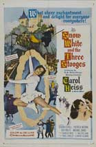 Snow White and the Three Stooges - 27 x 40 Movie Poster - Style A