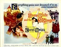 Snow White and the Three Stooges - 22 x 28 Movie Poster - Half Sheet Style A