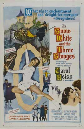 Snow White and the Three Stooges - 11 x 17 Movie Poster - Style A