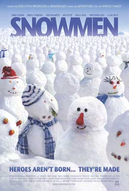Snowmen - 43 x 62 Movie Poster - Bus Shelter Style A