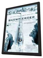 Snowpiercer - 11 x 17 Movie Poster - French Style A - in Deluxe Wood Frame