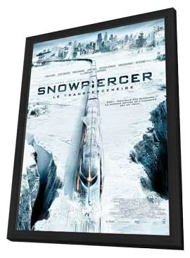 Snowpiercer - 27 x 40 Movie Poster - French Style A - in Deluxe Wood Frame