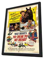So Deart to My Heart - 11 x 17 Movie Poster - Style A - in Deluxe Wood Frame