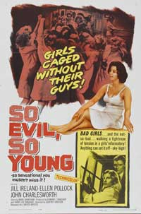 So Evil, So Young - 11 x 17 Movie Poster - Style A