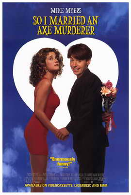 So I Married an Axe Murderer - 27 x 40 Movie Poster - Style B