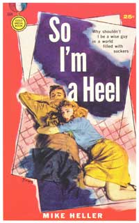 So I'm a Heel - 11 x 17 Retro Book Cover Poster
