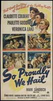 So Proudly We Hail - 41 x 81 3 Sheet Movie Poster - Style A