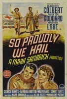 So Proudly We Hail - 43 x 62 Movie Poster - Australian Style A