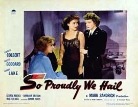 So Proudly We Hail - 11 x 14 Movie Poster - Style C