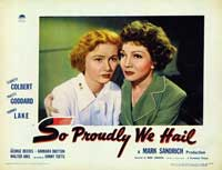 So Proudly We Hail - 11 x 14 Movie Poster - Style F