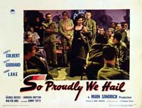 So Proudly We Hail - 11 x 14 Movie Poster - Style G