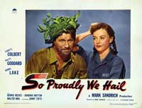 So Proudly We Hail - 11 x 14 Movie Poster - Style H