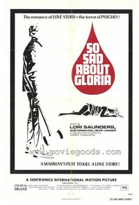 So Sad About Gloria - 43 x 62 Movie Poster - Bus Shelter Style A