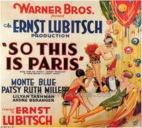 So This Is Paris - 43 x 62 Movie Poster - Bus Shelter Style A