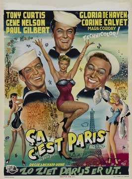 So This Is Paris - 27 x 40 Movie Poster - Belgian Style A