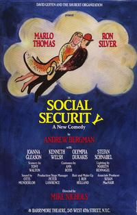 Social Security (Broadway) - 27 x 40 Movie Poster - Style A