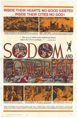 Sodom and Gomorrah - 11 x 17 Movie Poster - Style B