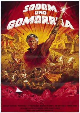Sodom and Gomorrah - 11 x 17 Movie Poster - German Style A