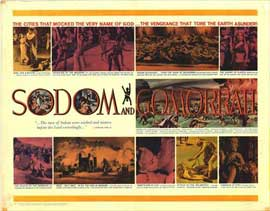 Sodom and Gomorrah - 22 x 28 Movie Poster - Half Sheet Style A