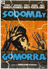 Sodom and Gomorrah - 11 x 17 Movie Poster - Spanish Style A