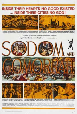 Sodom and Gomorrah - 27 x 40 Movie Poster - Style B