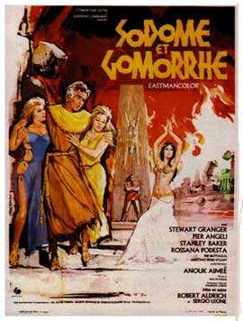 Sodom and Gomorrah - 11 x 17 Movie Poster - French Style A